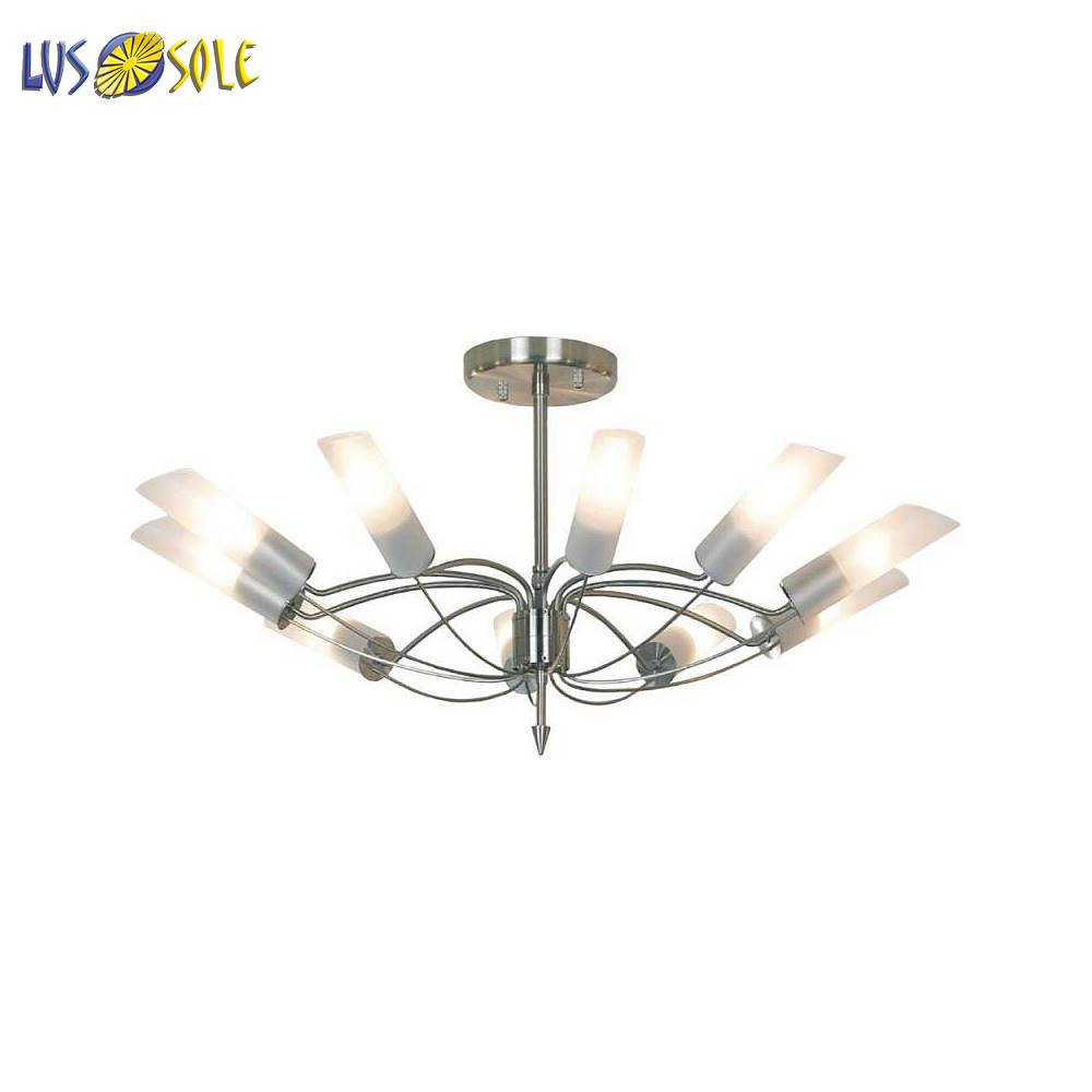 Chandeliers Lussole 41837 ceiling chandelier for living room to the bedroom indoor lighting jueja modern crystal chandeliers lighting led pendant lamp for foyer living room dining bedroom