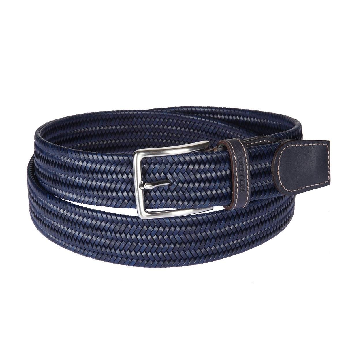 Фото - Belt Miguel Bellido 935/35 2341/12 navy blue active cut out elastic vest in navy