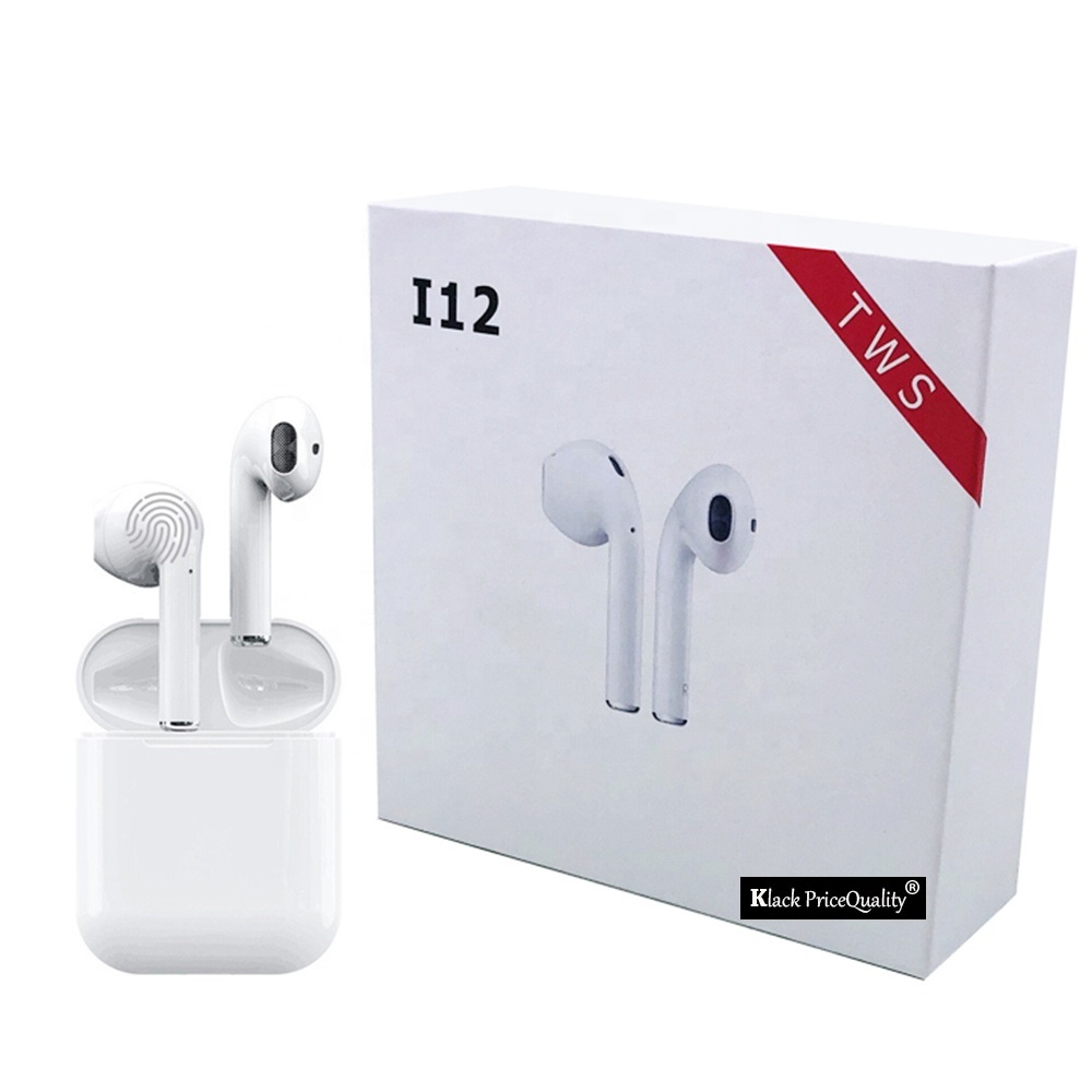 Bluetooth Headphones 5.0 I9 I10 <font><b>I12</b></font> i100 <font><b>Tws</b></font> with Microphone Wireless Headphones for Sport <font><b>Original</b></font> from Spain image