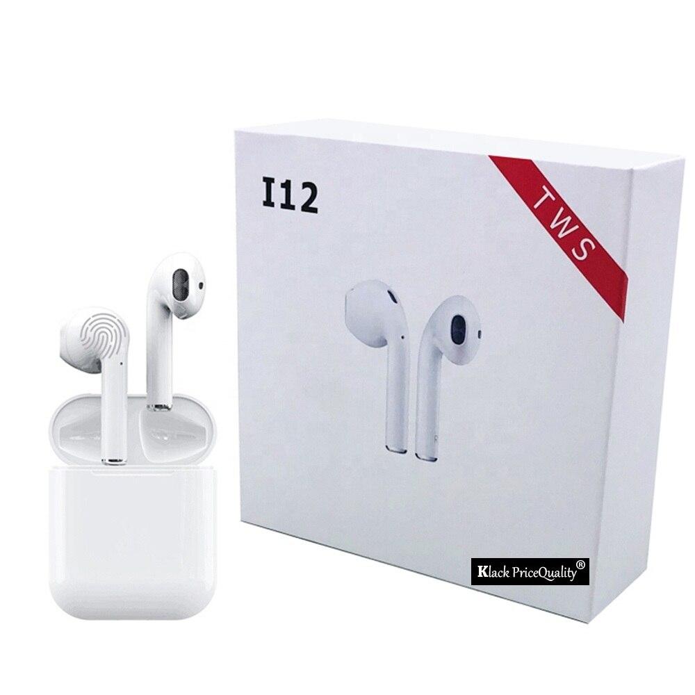 Bluetooth Kopfhörer 5,0 I9 I10 I12 i100 Tws mit Mikrofon Drahtlose Kopfhörer für Sport Original aus Spanien