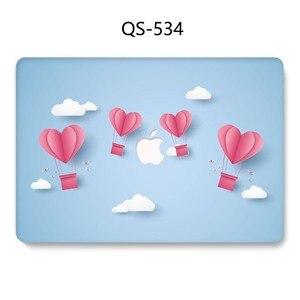 Image 2 - Macbook のラップトップケース 13.3 15.4 インチ Macbook Air Pro の網膜 11 12 13 15 スクリーンプロテクターキーボード入り江リンゴの袋ケース