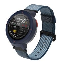 Bakeey (High) 저 (Quality Canvas Nylon 교체 Watch Band Multi-color Bracelet 끈 대 한 미 테크의 Amazfit 직전의 Smart Watch