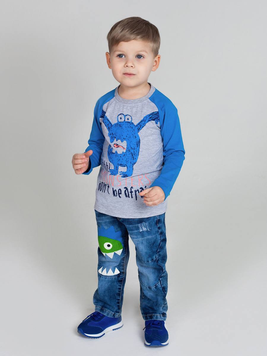 T-shirt knitted long sleeve for boys