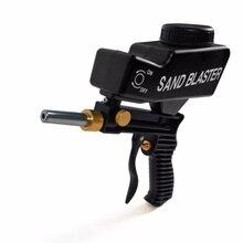 Портативный сверхмощный Пескоструйный пистолет подвесная бутылка пескоструйная обработка анти-ржавчина пневматические инструменты Пневматический абразивный Пескоструйный пистолет
