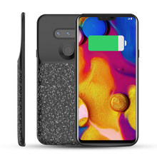 Voor LG V40 ThinQ Battery Charger Case 5200 mAh Externe Backup Power Bank Phone Protector Telefoon cover Voor LG V40 thinQ Telefoon(China)