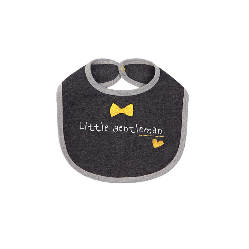 Apron bib Anthracite kids clothes children clothing kids clothes children clothing