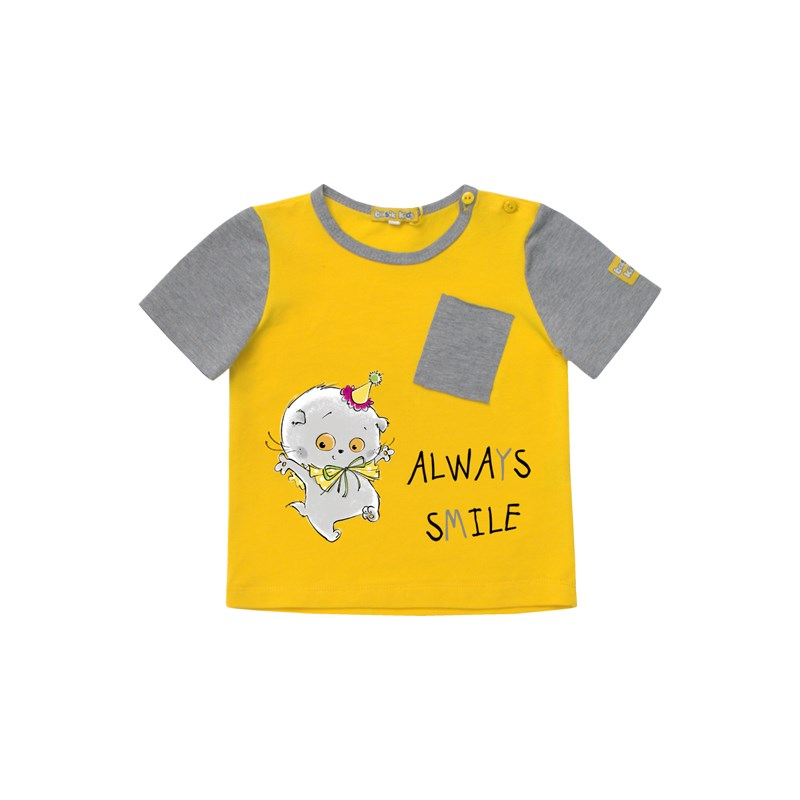 Basik Kids Blouse yellow kids clothes children clothing kids clothes children clothing basik kids blouse sweatshirt gray with pocket kids clothes children clothing
