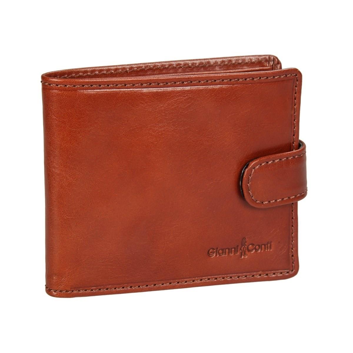Coin Purse Gianni Conti 907075 Tan кожаные сумки gianni conti 912150 tan
