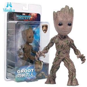 Grunt Moward Groot Wisun film drzewo człowiek dziecko figurka bohater Model strażnicy galaktyki Grot Model Toy prezenty dla dziecka