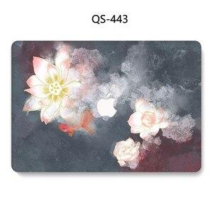 Image 4 - ホット Macbook Air Pro の網膜 11 12 13 15 新しいアップルのラップトップケースバッグ 13.3 15.4 インチスクリーンプロテクターキーボード入り江 tas
