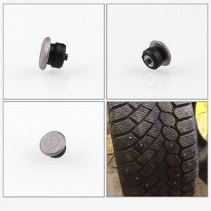 100 stücke Auto Schnee Spikes Reifen Tragen-beständig Anti-slip Nägel Schnee Spikes Für Reifen Winter Reifen studs
