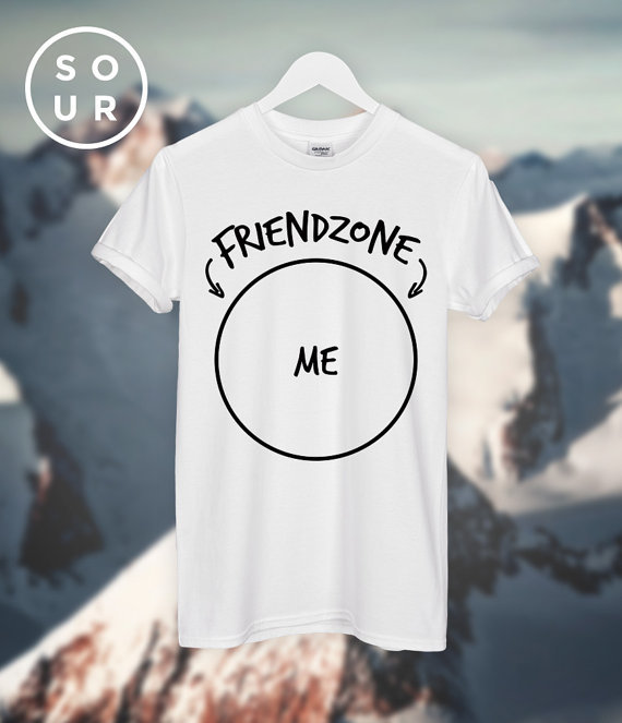 Image 2 - Friendzone ME T SHIRT unisex top C580-in T-Shirts from Womens Clothing