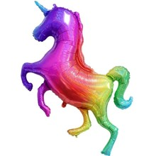 1pc Large 136cm Colorful Unicorn Foil Balloons Party Decorations Kids Babyshower Gender Reveal Supplies Childrens Toy