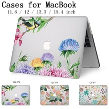 Laptop Case For Hot Apple Macbook 13.3 15.6 Inch For MacBook Air Pro Retina 11 12 13 15.4 With Screen Protector Keyboard Cove