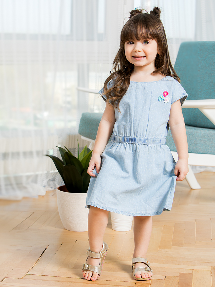 [Available with 10.11] Dress textile for girls [available with 10 11] dress textile for girls