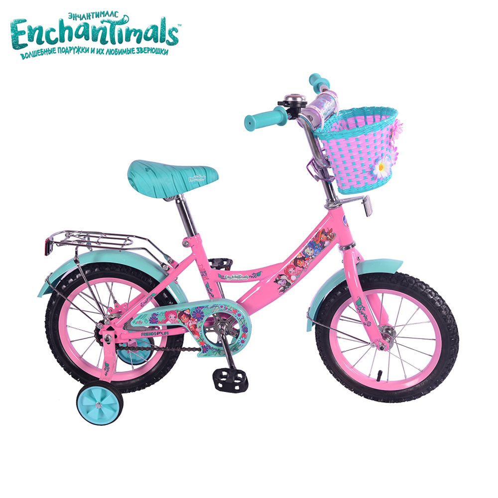 Bicycle Enchantimals 265207 bicycles teenager bike children for boys girls boy girl gub 328 bike bicycle handlbar mount holder for speedometer flashlight golden