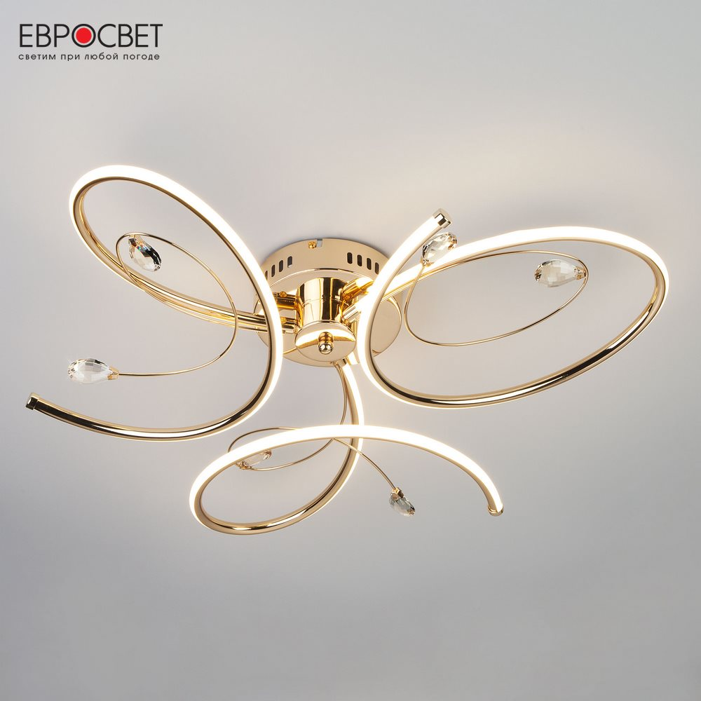 Chandeliers Eurosvet 134350 ceiling chandelier for living room to the bedroom indoor lighting jueja modern crystal chandeliers lighting led pendant lamp for foyer living room dining bedroom