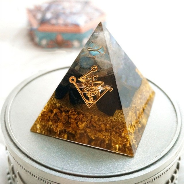 Muladhara Chakra Orgonite Pyramid