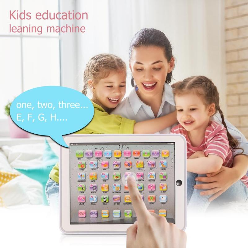 Child Touch Type Computer Tablet Kids Touch Study Computer Tablet English Learning Educational Machine Toys For Children