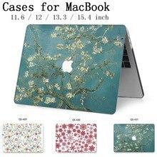 Dla MacBook Air Pro Retina 11 12 13 15 dla Apple nowy gorący etui na laptopa torba 13.3 15.4 Cal z ochraniacz ekranu klawiatura Cove tas