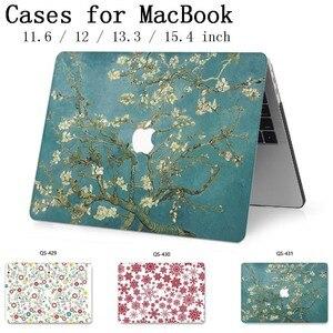 Image 1 - Für MacBook Air Pro Retina 11 12 13 15 Für Apple Neue Heiße Laptop Fall Tasche 13,3 15,4 Zoll Mit screen Protector Tastatur Cove tas