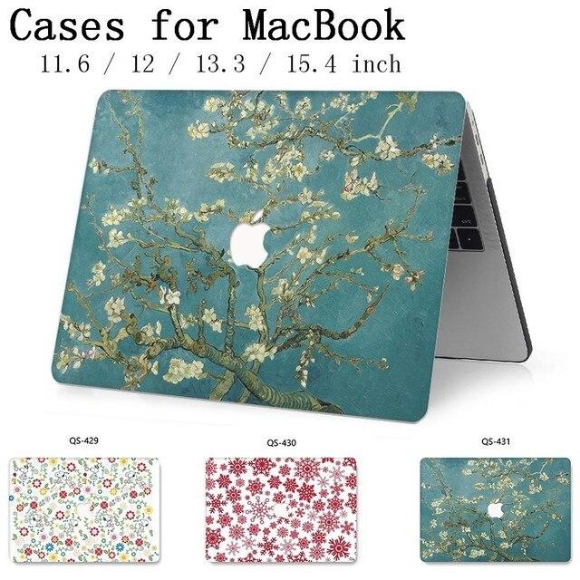 Für MacBook Air Pro Retina 11 12 13 15 Für Apple Neue Heiße Laptop Fall Tasche 13,3 15,4 Zoll Mit screen Protector Tastatur Cove tas