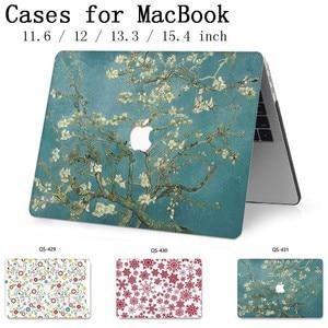 Image 1 - Voor MacBook Air Pro Retina 11 12 13 15 Voor Apple Nieuwe Hot Laptop Case Bag 13.3 15.4 Inch Met screen Protector Toetsenbord Cove tas