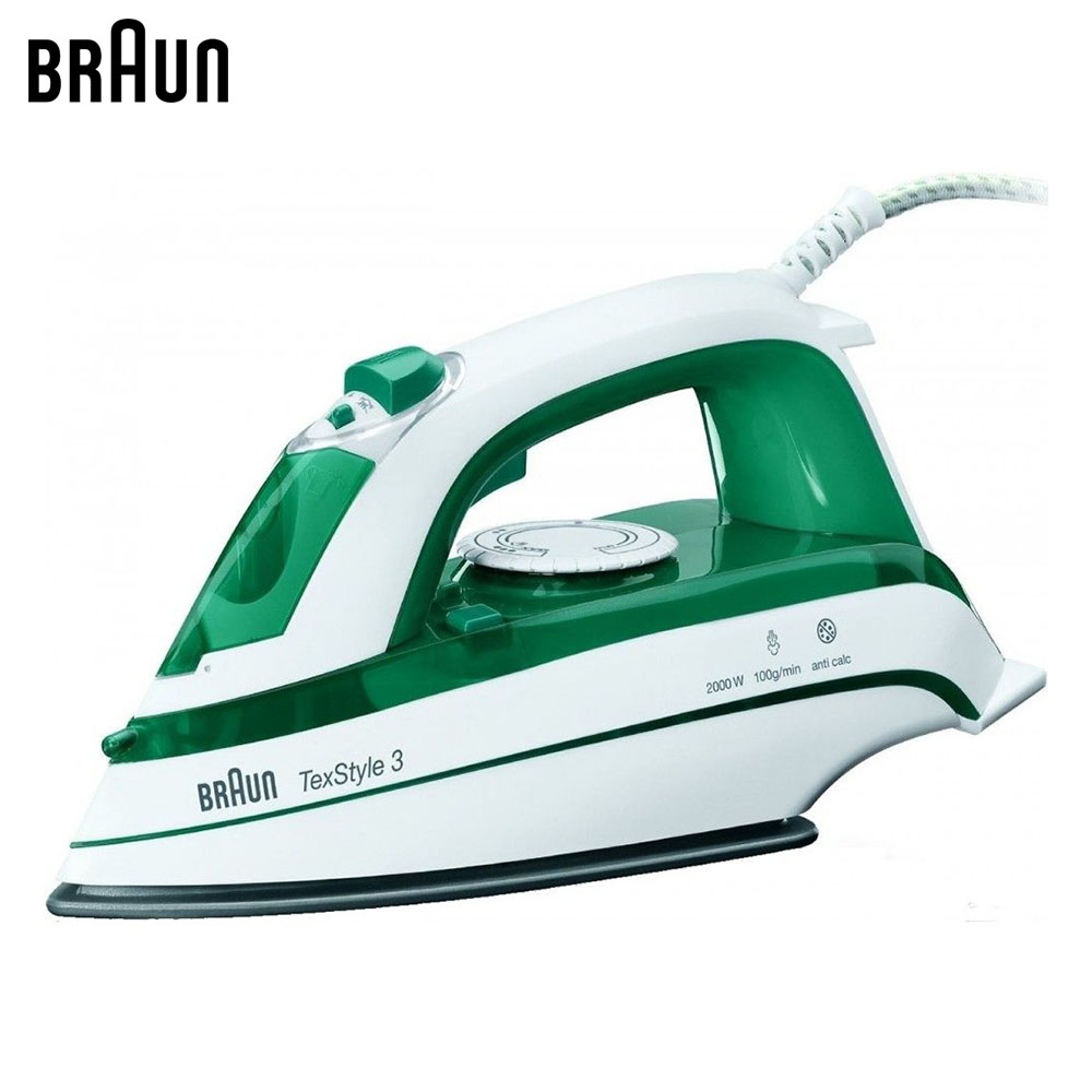Electric Irons Braun TexStyle 3 TS345 steam iron steamer electric irons braun texstyle 5 ts535 tp steam iron steamer