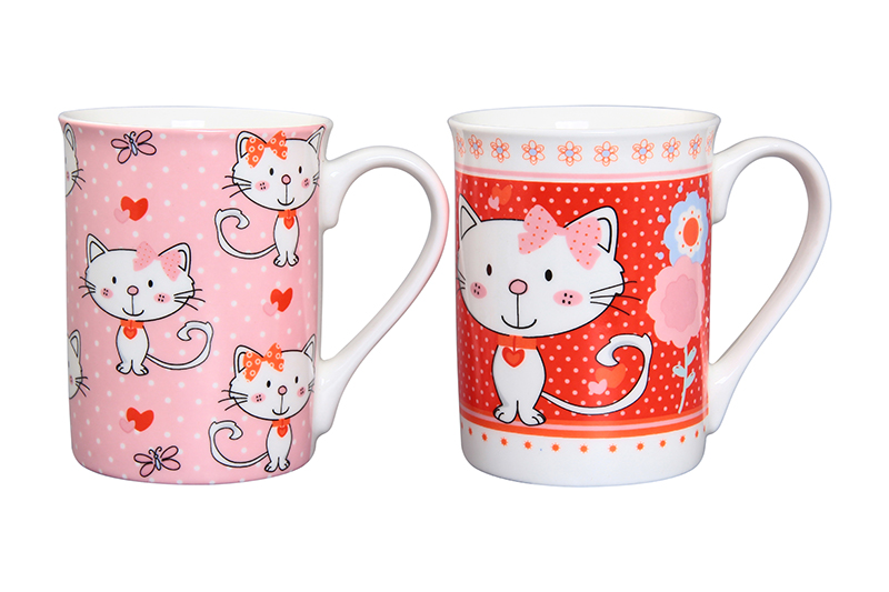 Available from 10.11 Set of mugs 2 items Pussies Elan Gallery 230035