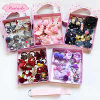 Cute Children'S Hair Accessories Set Jewelry Gift Box Rubber Hairpin Wholesale