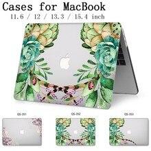 새로운 노트북 케이스 macbook 13.3 15.6 인치 macbook air pro retina 11 12 13 15.4 화면 보호기 키보드 코브 선물