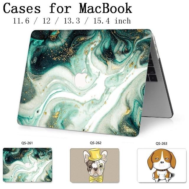 Caliente para ordenador portátil caso de manga para MacBook Air, Pro Retina, 11 12 13 15,4 de 13,3 pulgadas con Protector de pantalla teclado Cove