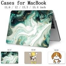 עבור מחשב נייד חם מקרה מחברת שקיות שרוול עבור MacBook רשתית 11 12 13 15.4 13.3 אינץ עם מסך מגן מקלדת קוב