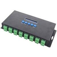 Bc-216 2 포트 16 채널 Artnet To Spi / Dmx Ws2811 Ws2812B Sk6812 2801 8806 Led 픽셀 컨트롤러 340 픽셀 16Ch Dc5V-24V