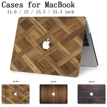 Hot Laptop Case For MacBook Air Pro Retina 11 12 13 15.4 For Apple Macbook 13.3 15.6 Inch With Screen Protector Keyboard Cove 19