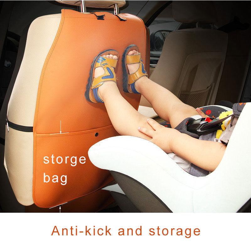Motors Car Accessories research.unir.net PU Leather Car Seat Back ...
