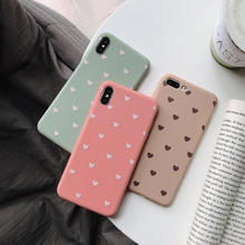 New small love mobile phone case for iPhone 6 7 8 anti-drop iPhoneX XS XR MaxiPhone 6S Plus Mobile
