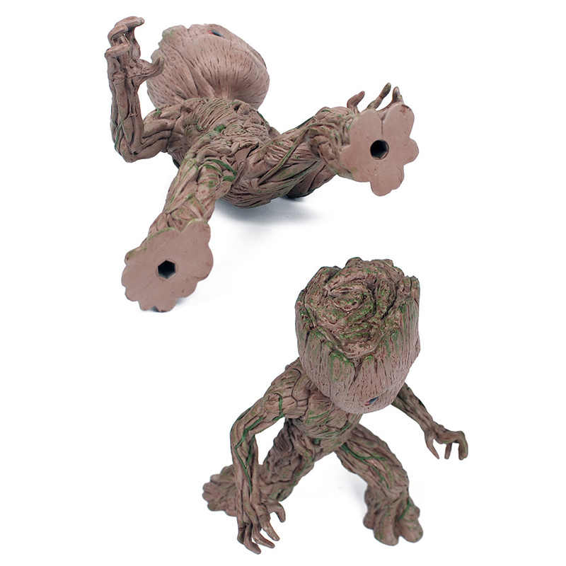 الناخر Moward Groot Wisun الفيلم شجرة رجل الطفل عمل الشكل بطل نموذج حراس غالاكسي جروت لعبة مجسمة الهدايا ل طفل