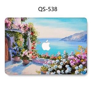 Image 3 - Funda para ordenador portátil para MacBook 13,3 de 15,4 pulgadas para MacBook Air Pro Retina 11 12 13 15 con funda protectora de pantalla para teclado apple bolsa caso