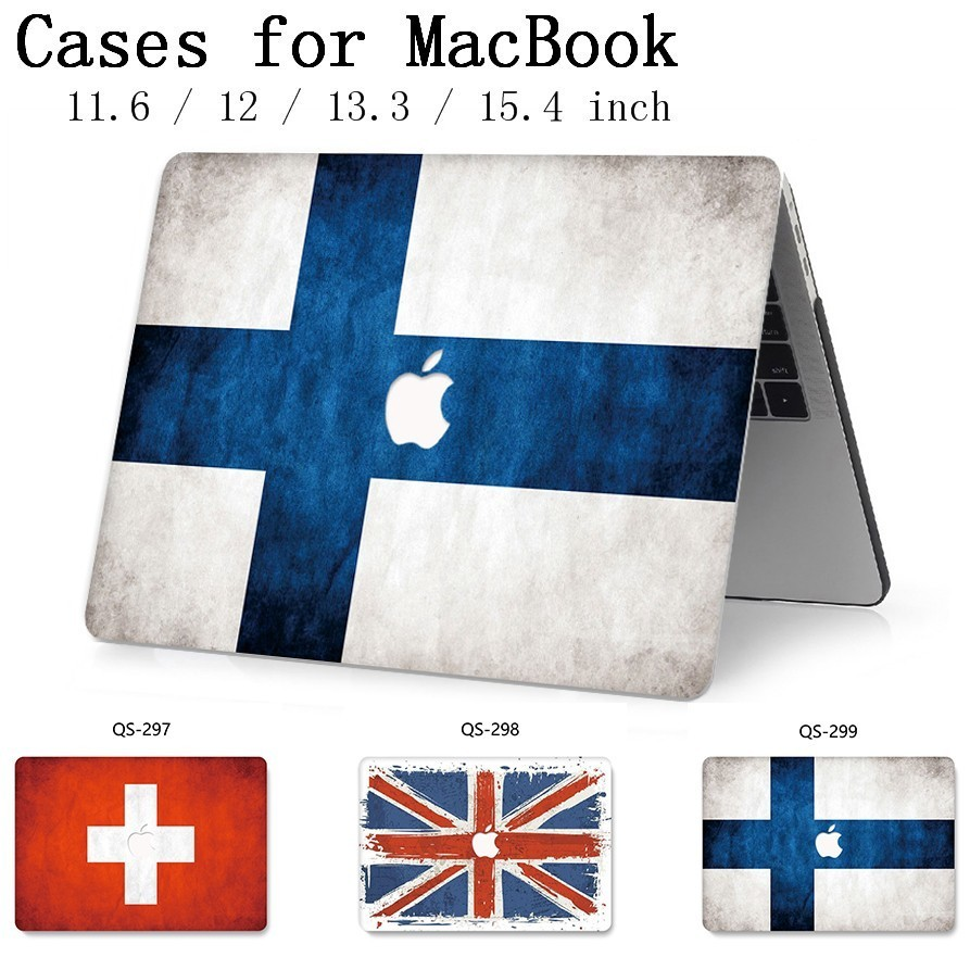 Hot For Laptop Case New Notebook Sleeve For MacBook Air Pro Retina 11 12 13 15.4 13.3 Inch With Screen Protector Keyboard Cove-in Laptop Bags & Cases from Computer & Office