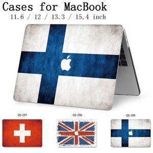Image 1 - Hot Para O Caso Do Laptop Novo Notebook Sleeve Para MacBook Air Pro Retina 11 12 13 15.4 13.3 Polegada Com Tela protetor de Teclado Enseada