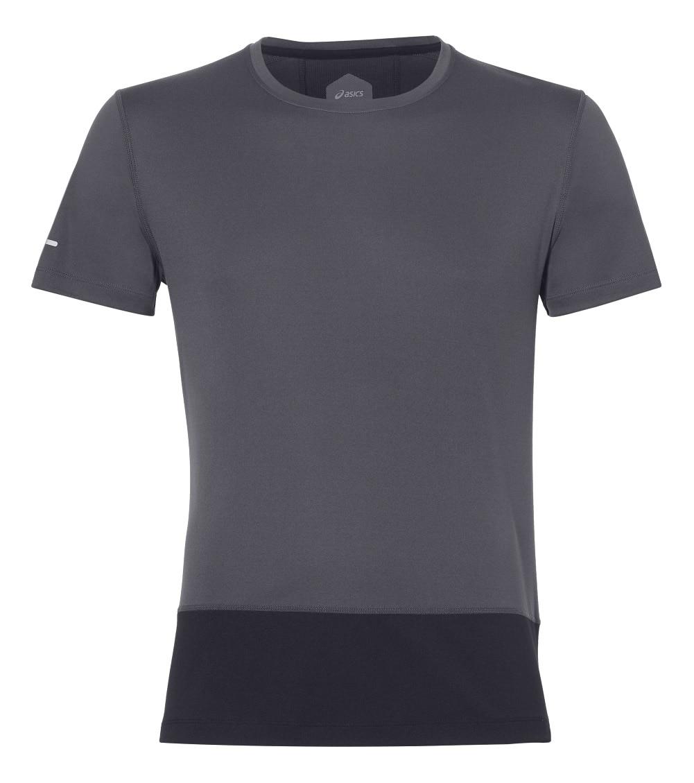 T-Shirt ASICS 154585-0779 sports and entertainment for men men s korean version flaming sports car printing pattern short sleeve t shirt grey size xl