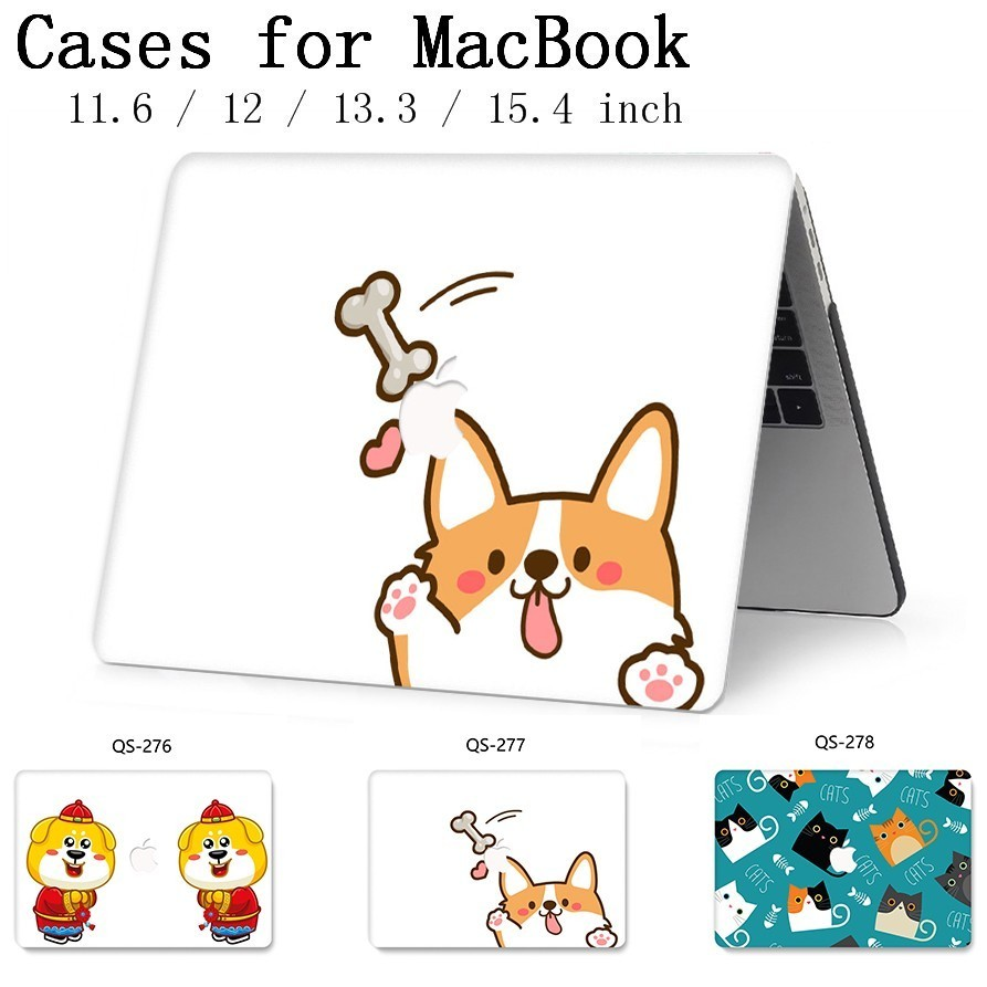 New Notebook Sleeve For MacBook Air Pro Retina 11 12 13 15.4 13.3 Inch With Screen Protector Keyboard Cove Hot For Laptop Case-in Laptop Bags & Cases from Computer & Office