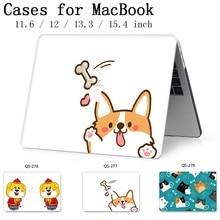Novo Notebook Sleeve Para MacBook Air Pro Retina 11 12 13 15.4 13.3 Teclado Enseada Polegada Com Protetor de Tela Quente para o Caso Do Laptop