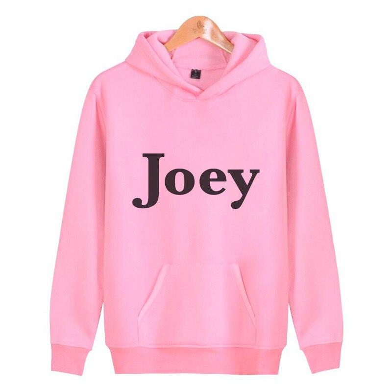joey Men's sportswear 2019 hoodies men Funny print fashion sweatshirt O-neck Long Sleeve N7379