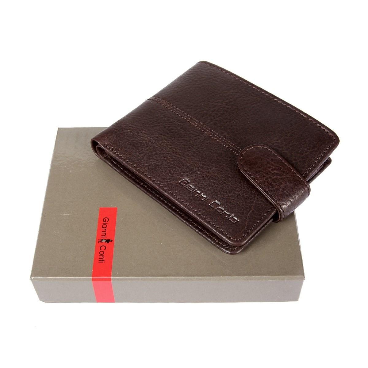 Coin Purse Gianni Conti 1137075 dark brown