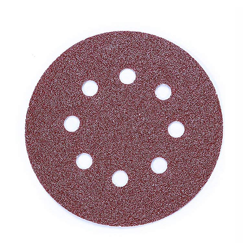 Hot 80Pcs Sanding Discs,Sanding Disc Pads 125mm/5 Inch 8 Holes Hook And Loop 40/60/80/120/180/240/320/400 Sandpaper Assorted F