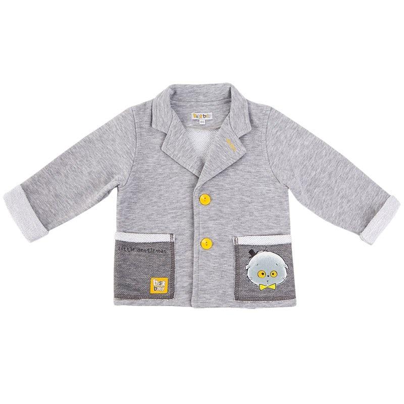 Basik Kids Jersey buttons gray melange basik kids denim pants bananas light gray