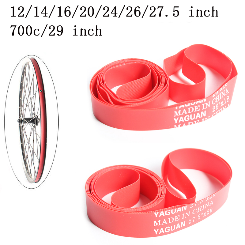 2PCS MTB Road Bike Bicycle <font><b>Tire</b></font> Tyre Liner Band Tube Protector 18mm Wide Anti-Puncture Rim Tape Cycling Accessory image
