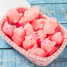 Pink Cartoon Squishy Pig Anti-stress Toy Piggy Sounding Stress Relief Toys Silicone Squeeze Toys Kids Gift Baby Funny Toy Gifts(China)